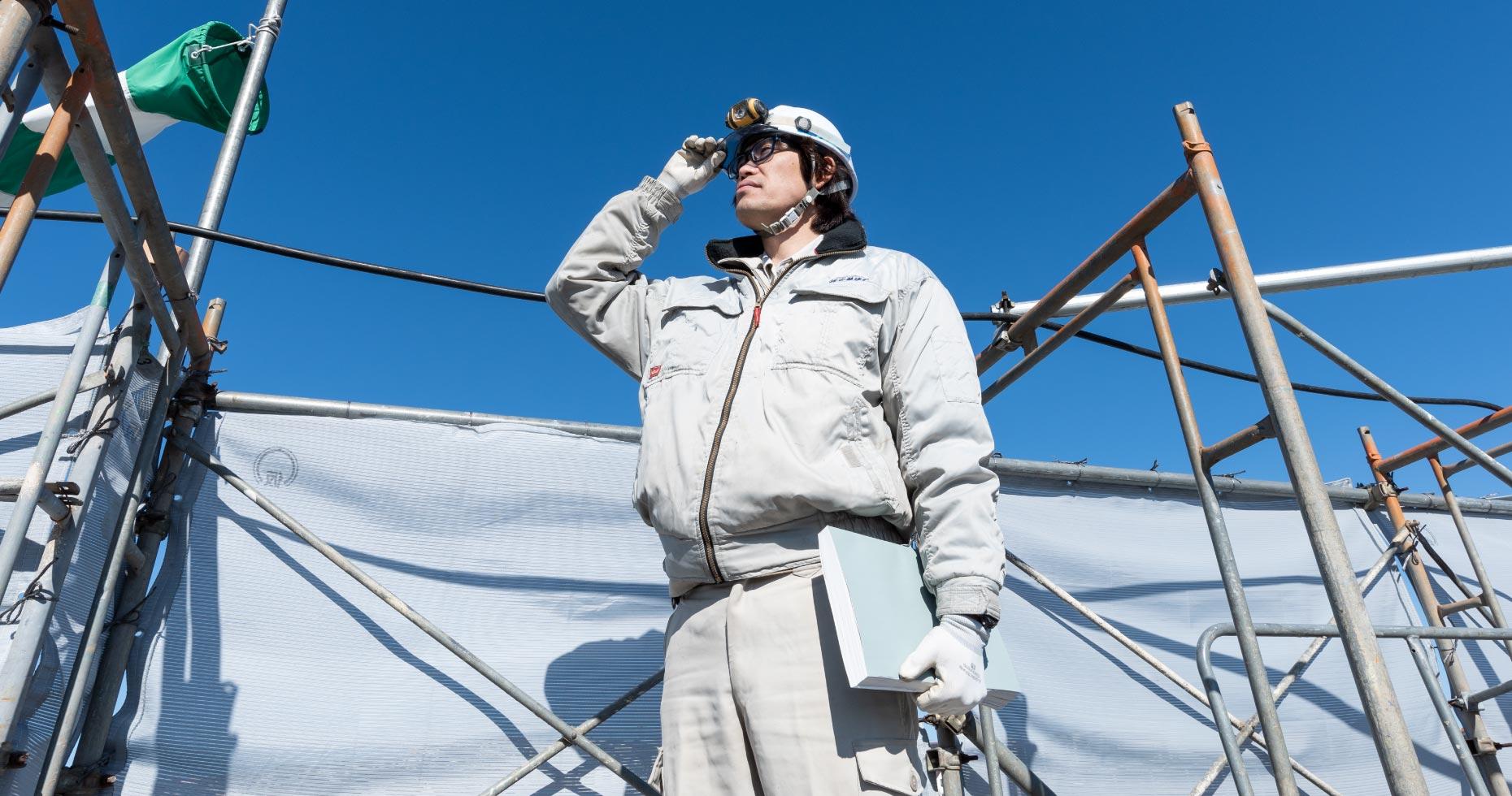 株式会社安藤建設の採用情報、施工管理のお仕事