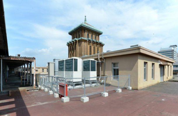 神奈川県:本庁舎電気室棟新築工事